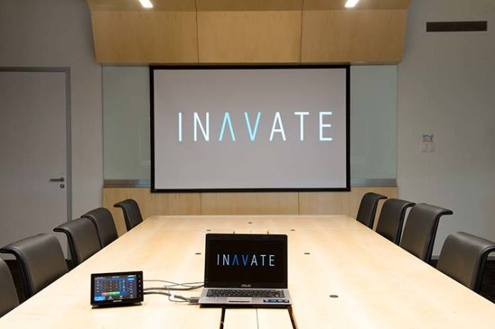 Inavate's fit out at DHL Vietnam