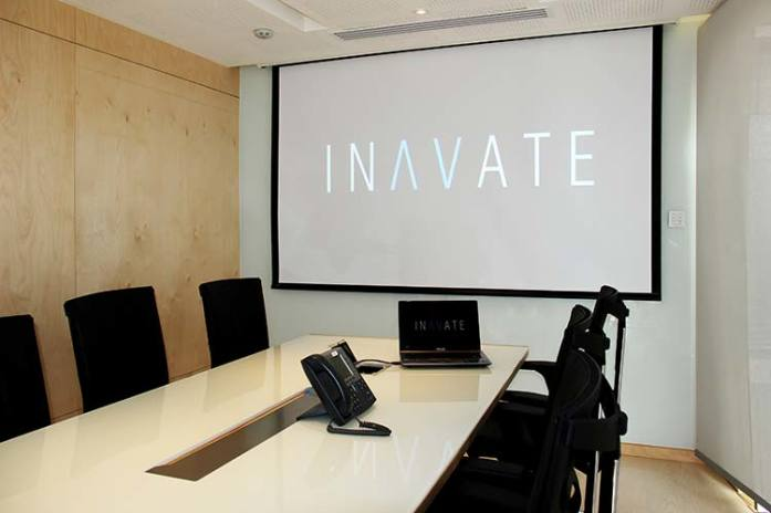 Inavate's kit out at GroupM Vietnam