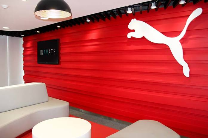 Inavate's fit out at Puma Vietnam